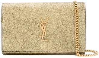 Saint Laurent monogram wallet on chain