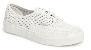Women's Vans Authentic Dx Perforated Sneaker $69.95 thestylecure.com