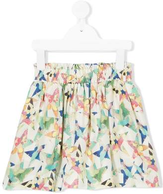 Stella McCartney star pattern skirt