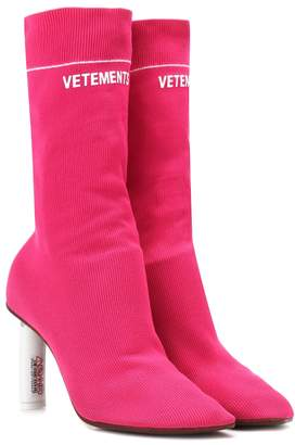 Vetements Lighter-heel Sock ankle boots