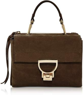 Coccinelle Arlettis Suede Top Handle Crossbody Bag