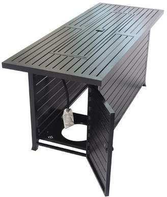Legacy Heating Aluminum Propane Fire Pit Table