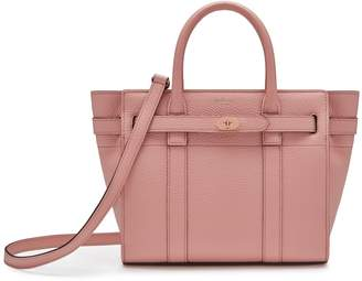 Mulberry Mini Zipped Bayswater Pink Peony Small Classic Grain