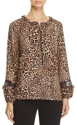 Le Gali Reed Leopard-Print Blouse - 100% Exclusive