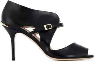 Pollini peep toe sandals