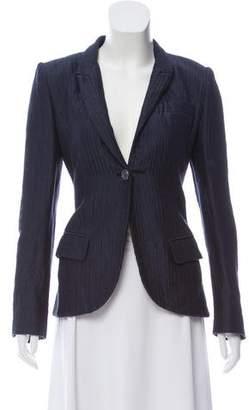 Richard Chai Long Sleeve Textured Blazer