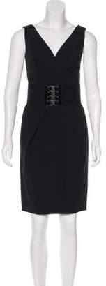 Kaufman Franco Kaufmanfranco Sleeveless Knee-Length Dress