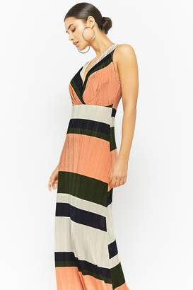 Forever 21 Striped Ribbed Knit Dress