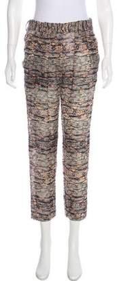 Isabel Marant High-Rise Devoré Pants w/ Tags