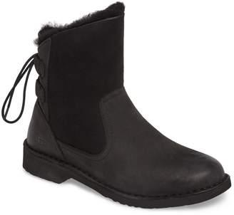 UGG Naiyah Lace-Back Genuine Shearling Boot