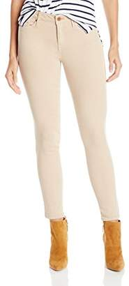 Calvin Klein Jeans Women's Garment Dyed Ankle Skinny Colored Denim Jean $29.99 thestylecure.com