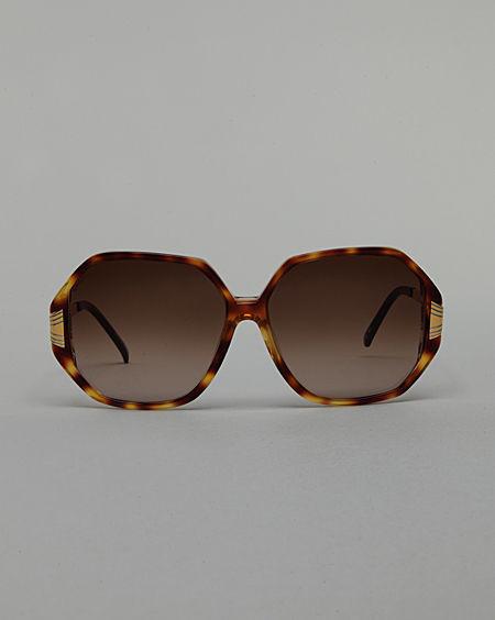 Linda Farrow Luxe / Oversized Squared Sunglasses