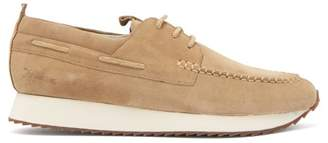 Grenson Sneaker 15 Suede Deck Shoes - Mens - Beige