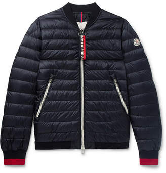 Moncler Daneb Quilted Shell Down Bomber Jacket