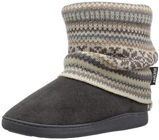 Muk Luks Women's Raquel Grey Slipper
