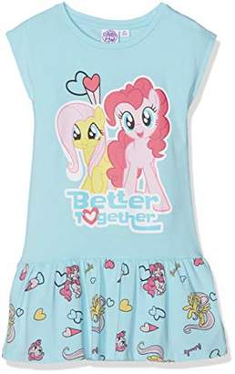 bf65521cd16a My Little Pony Girl's 6017 Dress, Blue Bleu Clair
