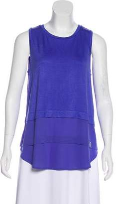 MICHAEL Michael Kors Crew Neck Sleeveless Top