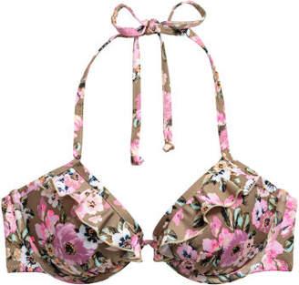 H&M Push-up Bikini Top - Beige
