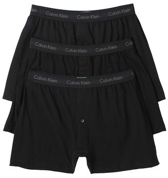 Calvin Klein Underwear Cotton Classic 3 Pack Knit Boxers $39.50 thestylecure.com