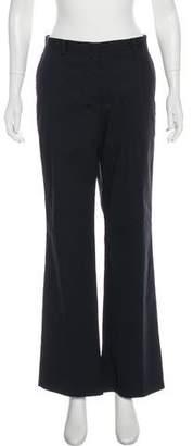 Calvin Klein Collection Mid-Rise Wide-Leg Pants