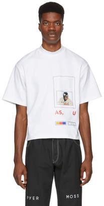Pyer Moss White Fed Up T-Shirt