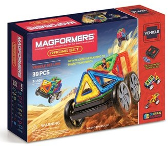 Boy's Magformers 'Racing' Magnetic Remote Control Vehicle Construction Set $119.99 thestylecure.com
