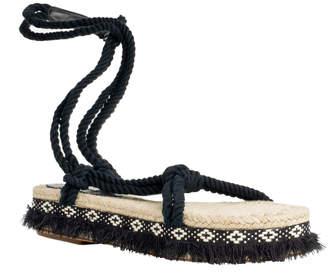 Max Studio verve : ankle-wrap sandals