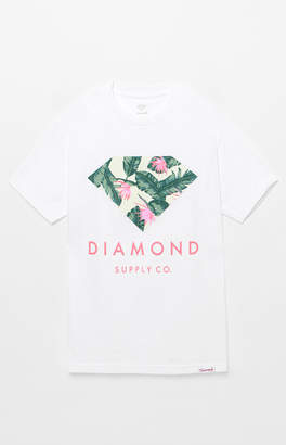 Diamond Supply Co. Leaf Stone Cut T-Shirt