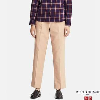 Uniqlo Women's Cotton Straight Pants (ines De La Fressange)