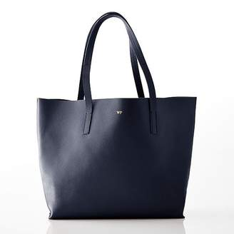 Daily East/West Leather Tote