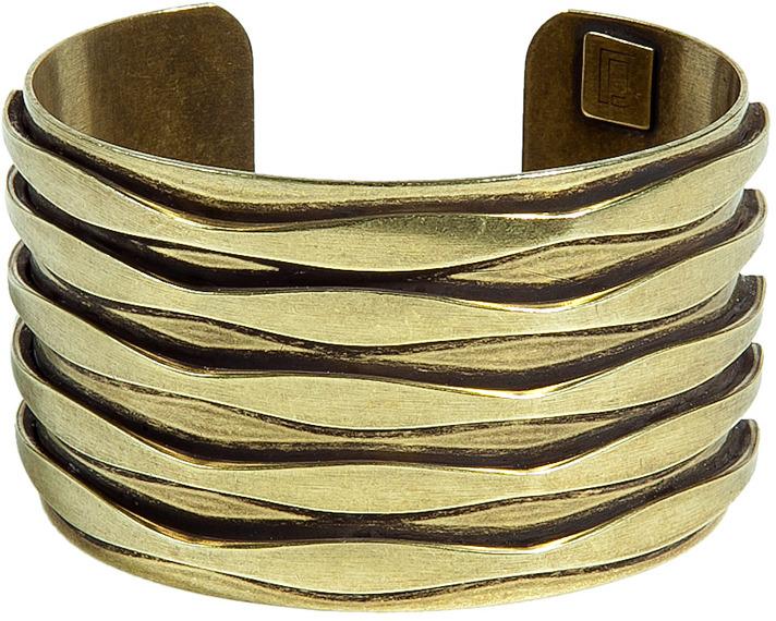 Dannijo Oxidized Brass Plated Talum Cuff