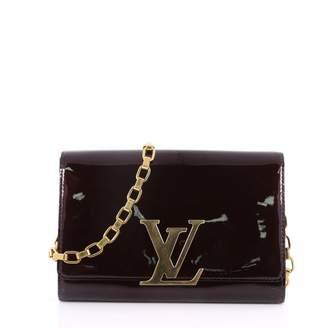 Louis Vuitton Louise Red Patent leather Handbag