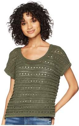 BB Dakota Larter Drop Needle Crop Sweater Women's Sweater