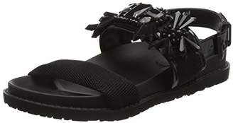 Blink Women's BkuraL Open Toe Sandals Black Size: 4