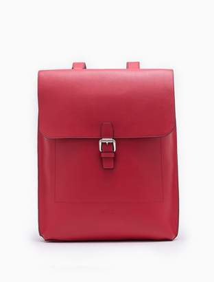 Calvin Klein edged leather backpack