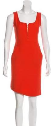 Tory Burch Sleeveless Wool Mini Dress