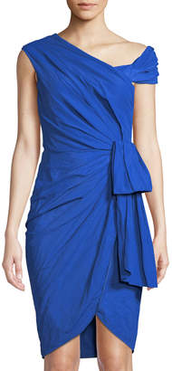 Moschino Draped Asymmetric Wrap Dress