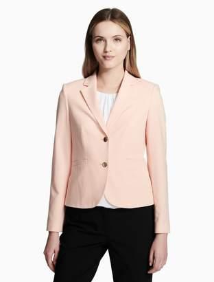 Calvin Klein luxe 2 button jacket