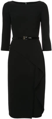 Michael Kors asymmetric belted dress