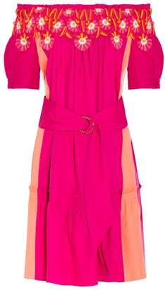 Peter Pilotto Panelled Cotton Dress