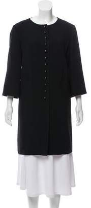 Andrew Gn Short Sleeve Knee-Length Coat