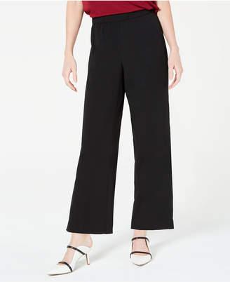 Alfani Pull-On Wide Leg Cropped Pants