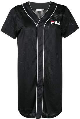 Fila logo printed jersey dress