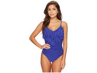 Magicsuit Fringe Blaire Tummy Control One-Piece Swimsuit