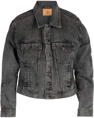 Y/Project Double-layered denim jacket
