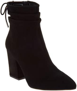 Vince Camuto Suede Block Heeled Ankle Boots - Salali