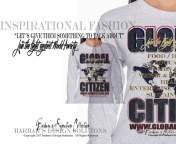 Barbara's Design Solutions Global Citizen Join the Fight Against World Poverty Unisex Tops by B.D.S. All Rights Reserved.