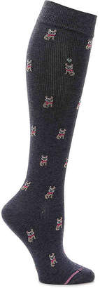 Dr. Motion French Bulldog Compression Knee Socks - Women's