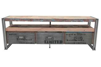 Soundslike HOME Sounds Like Home Loft Tv Unit With Drawers