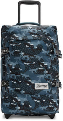 MAISON KITSUNÉ Blue Eastpak Edition Camouflage Tranverz S Travel Bag